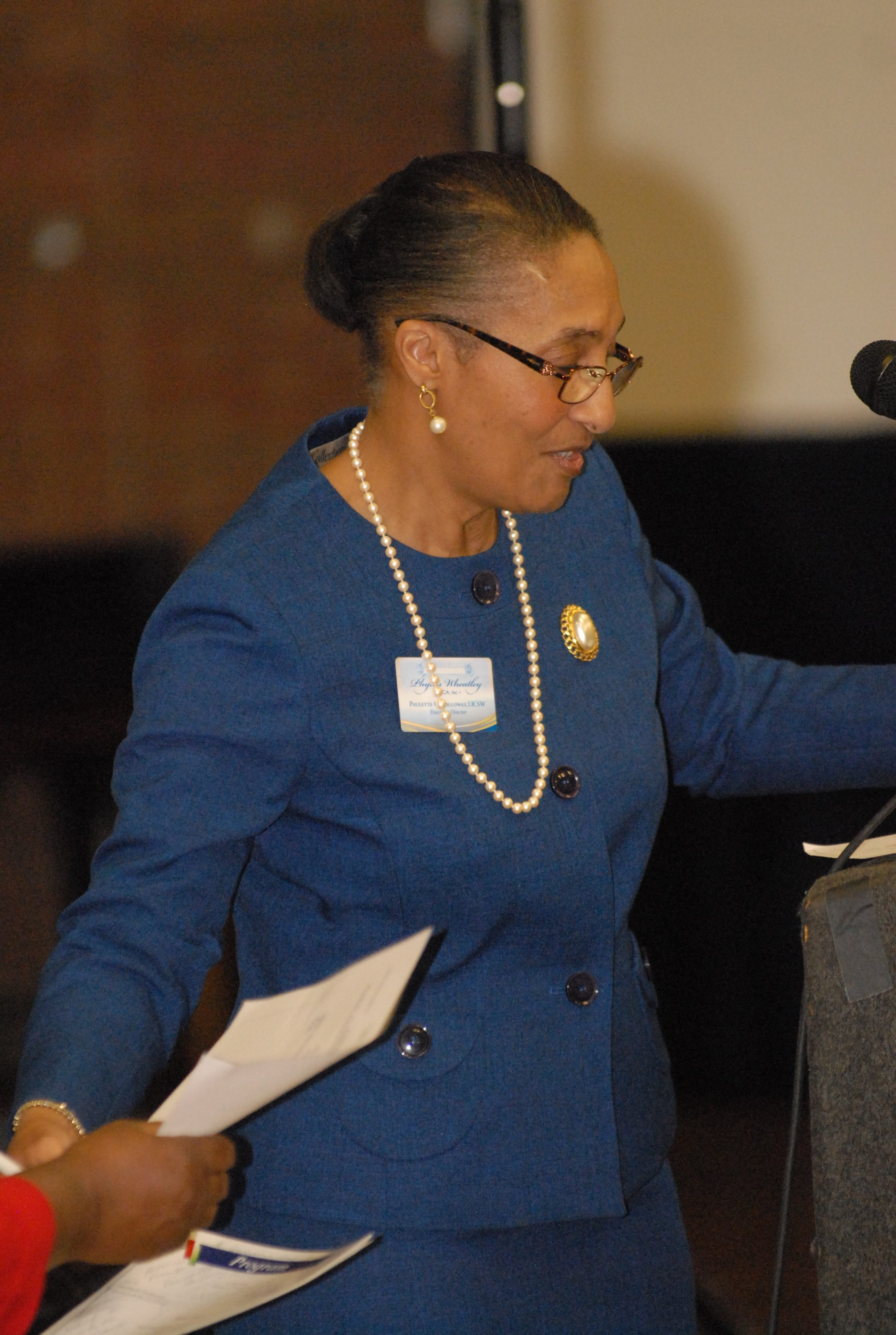 PWYWCA Executive Director Paulette Holloway